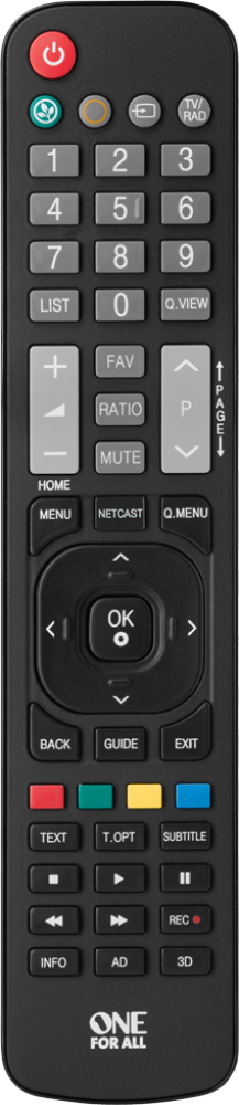 LG TV Replacement Remote (URC1911)